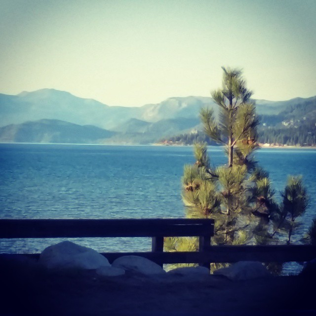 A light dusting this morning in #tahoe but spring has surely arrived.  Time to get out on the #hiking trails, #biking trails, head to the #beach, get on the #water and just get #outdoors and have fun! #adventure #laketahoe #graniterocx
