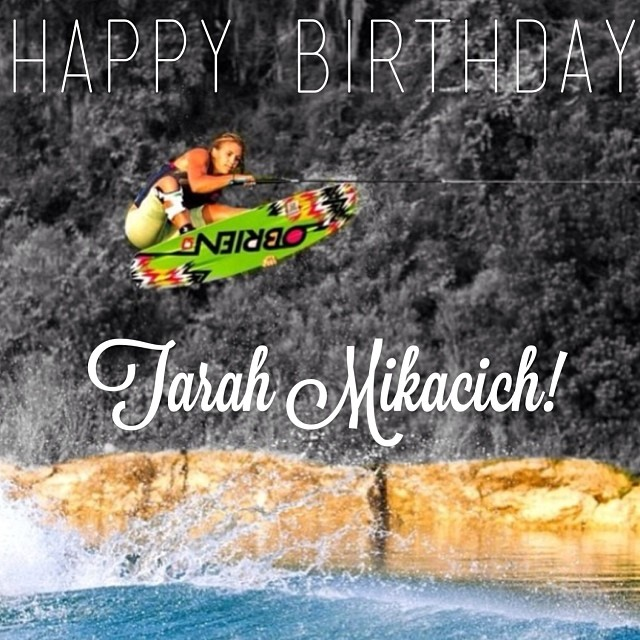Happy happy birthday to our amazing #teamB4BC rider @TarahMik, may all your wishes come true!!