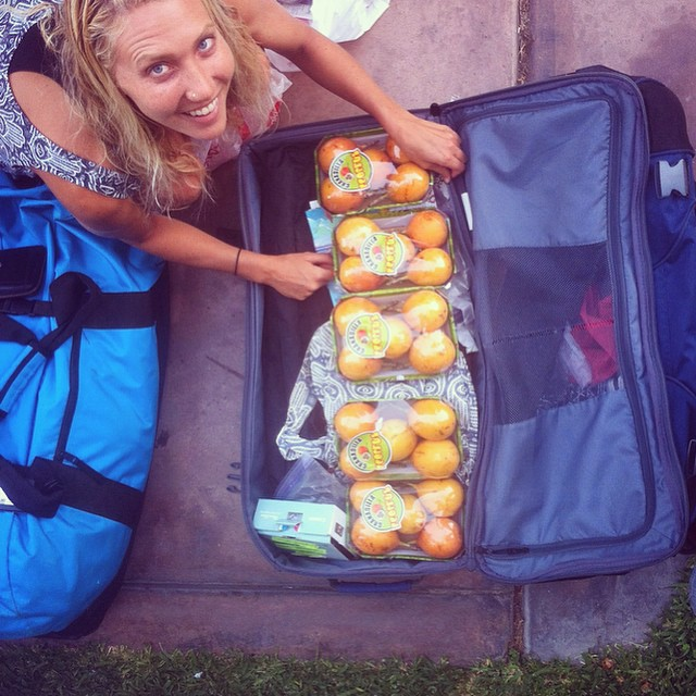 The measures one takes when your favorite Peruvian fruit doesn't exist at your next destination... #granadilla #GANARdilla #Gnnnnaaaarrrradilla :) /// @billabongwomens #wandermuch #fruitfuladventures #lima #peru #beyond #nonstopping #coast2coast...