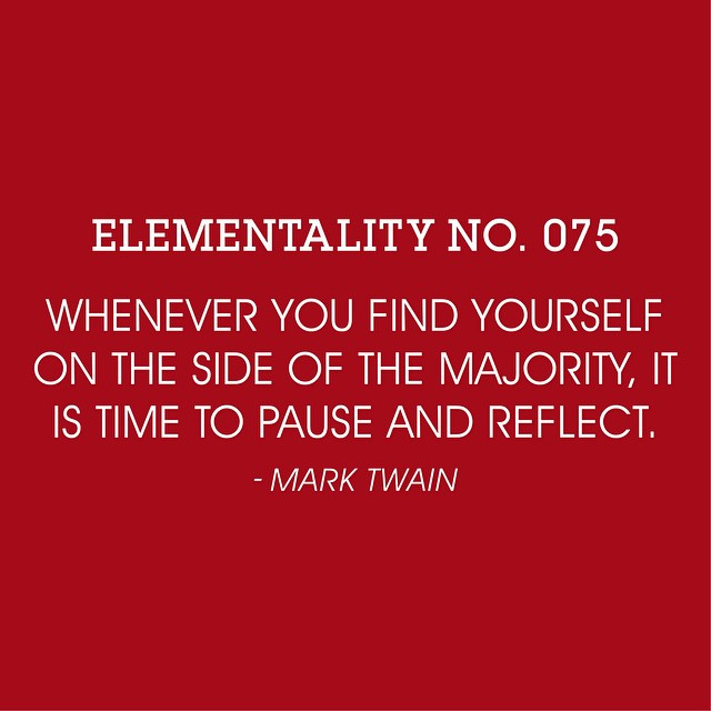 #elementality No. 075. #wisdomwednesday #knowledgeispower