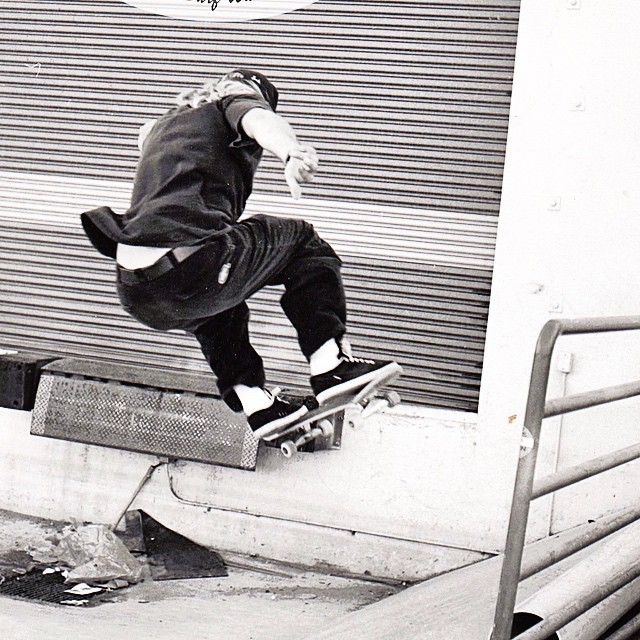 Our Head of Sales TED. Timeless style and big ditch ollies in San Diego circa 95. #uluLAGOON #darealz #ponytail #skateandenjoy #surf #surfwaxcandles #creator #originators #fromthebeginning #steez #ollie #sandiego