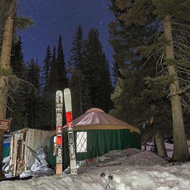 @johnkutcher took to the yurts for a weekend backcountry trip. Read his story on Experience Forsake! #getoutthere #adventureworthy #heartandsole