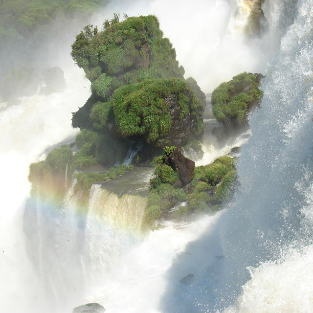 Una isla en el medio de las cataratas del iguazu! Incluye arbol con sombra... #argentina #loves_latino #love_argentina #animazing_nature #ig_naturelovers #ig_argentina #all_my_own #cataratas #arbol #misiones #estaes_america #earthsights #naturaleza...