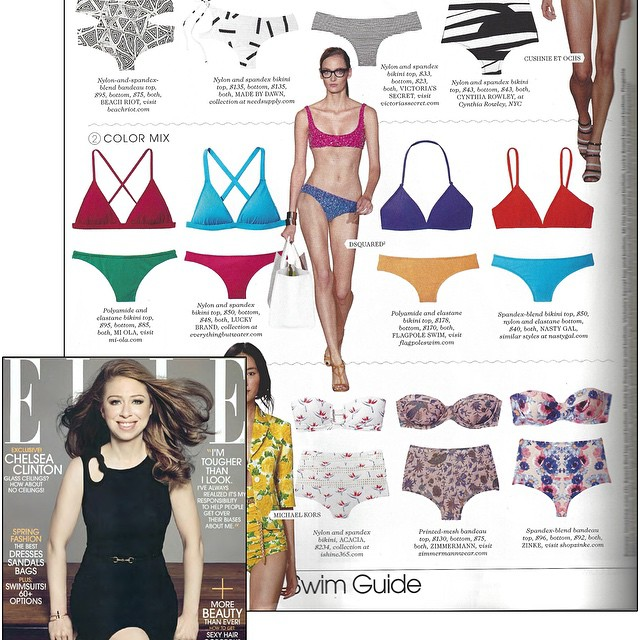 Woohoo! Check us out in this month's issue of @elleusa