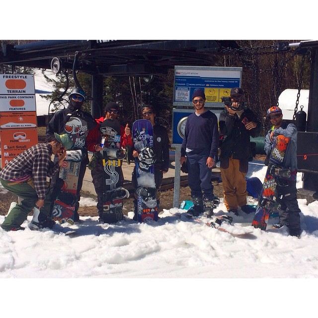 #FluxBindings riders at @CarinthiaParks are currently filming a fun spring edit! Lots of ideas are being born with this group of shred heads. We can't wait to see the outcome!