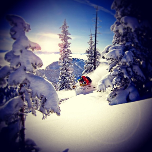 @kaylinrichardson always knows where to find the good snow!