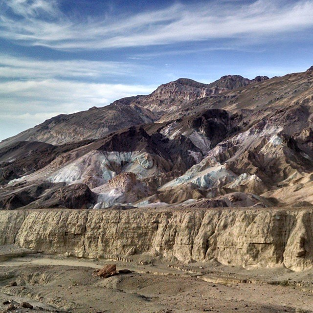The Artist's Palette in Death Valley National Park by @lifebyrene #radparks #parksproject