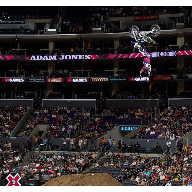 Six-time medalist @adamjones760 has confirmed that he will compete in Moto X Speed & Style at #XGames Austin this June. (