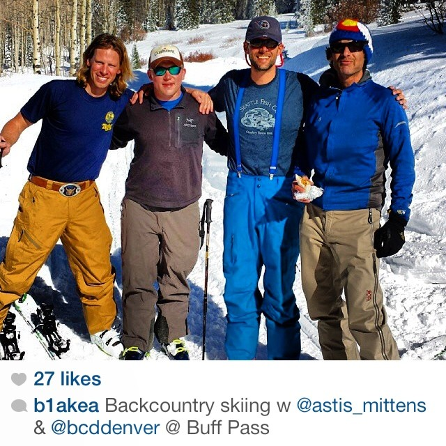 Regram from @b1akea last weekend in Steamboat.