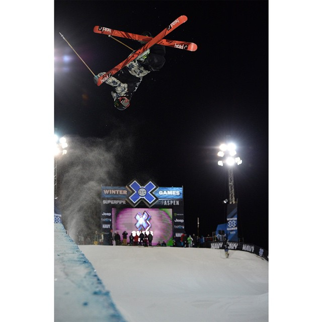 Four-time #XGames Ski SuperPipe competitor @aaronblunck turned 19 years old today. (