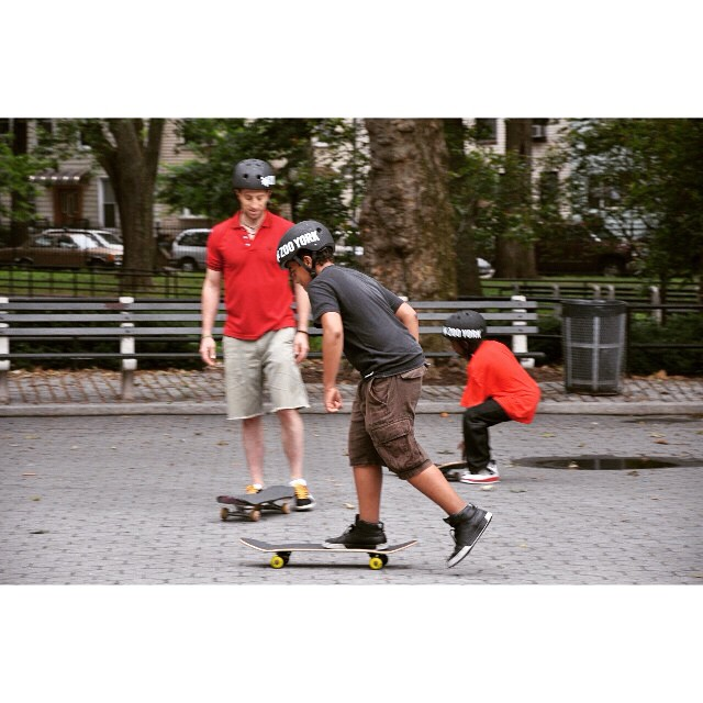 #tbt from 2011 as we get ready to ride in nyc this weekend.  #stokedtoskate #skatementor