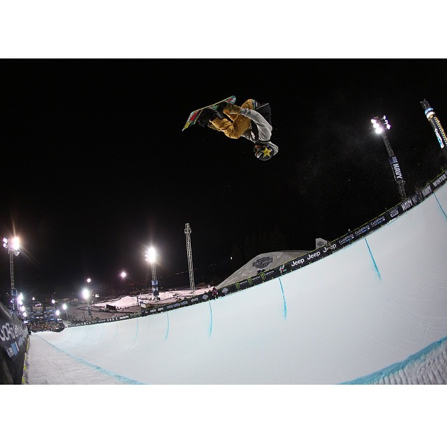 Two-time #XGames Snowboard SuperPipe competitor Gabe Ferguson turned 16 years old today. (