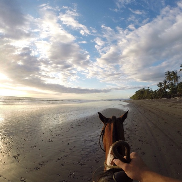 Photo of the Day! Pura Vida. Horseback riding in Costa Rica. Photo by Fernando Colella. #GoPro