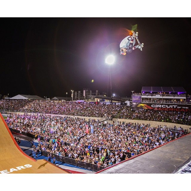 #TBT – A year ago, @tomschaar became the youngest gold medalist in ❌ Games Big Air history!  Click the link on our profile page to peep his record-setting performance. (