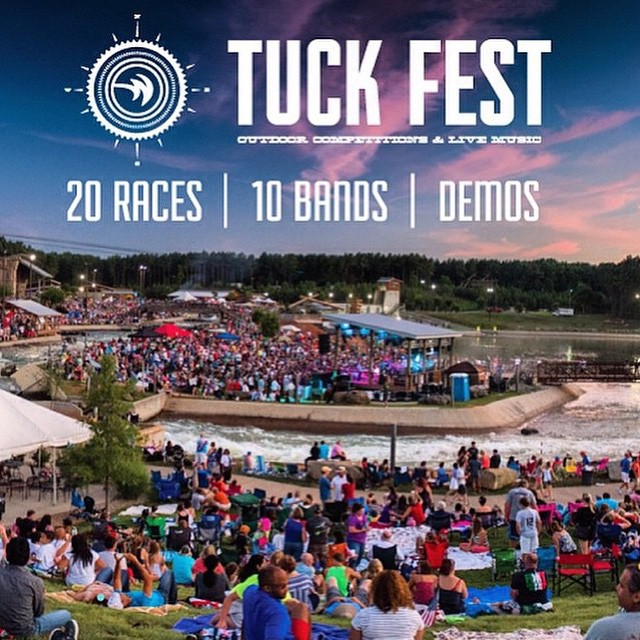 FREE event for spectators this weekend fri-sun | races, live music, vendor village, food, drinks and good times! | come out to @usnwctuckfest at the @usnwc | #charlotte #ridenc #gooutside #stayoutside #happyshredding #professionaloutsider #whitewater...