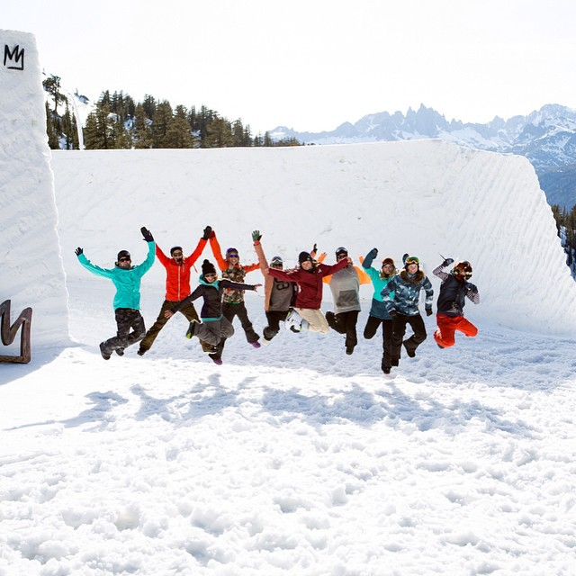 Winter's not over yet!  Team B4BC rider @kimmyfasani's @amusement_park is back at @mammothmountain next weekend, and it's going to be epic!  Along with the Amusement Park all-female shoot for the pros, there will be a free @burtongirls Ride Day and a...