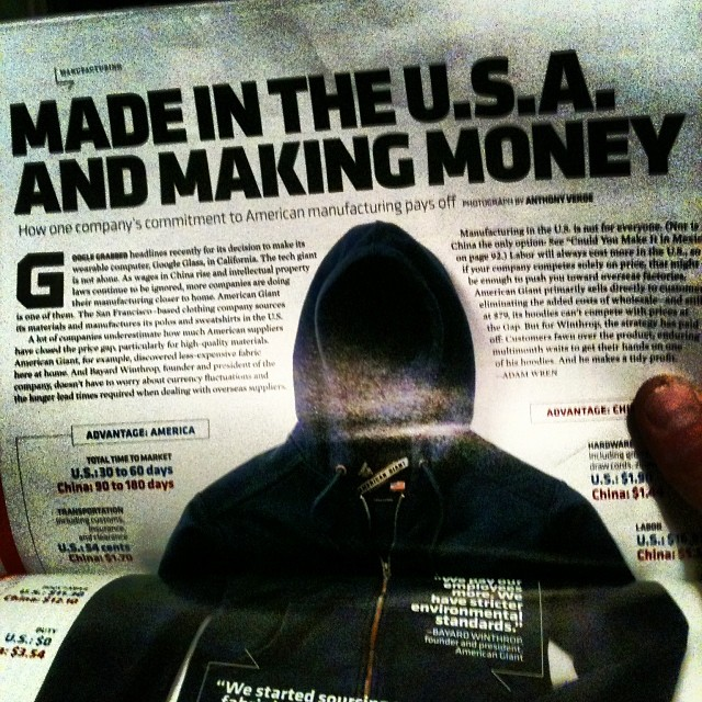 #madeinusa and making money.. It's possible