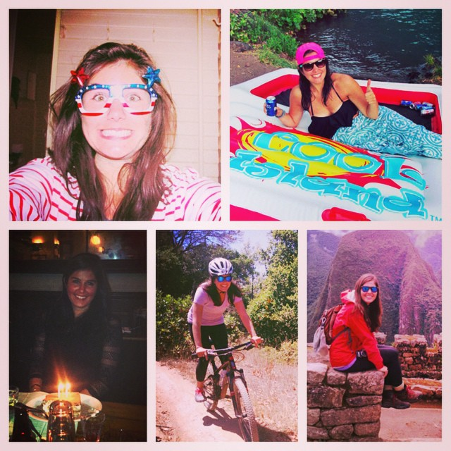 I don't picstitch for just anyone, but you can expect one every September 3rd. Happy Birfday to this goofy, beautiful, adventurous woman! #coolisland