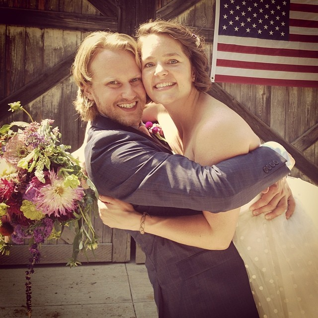 Wowzers, my twin got married! Congrats Jeff and Rachel! #twininlaw #radjadwedding