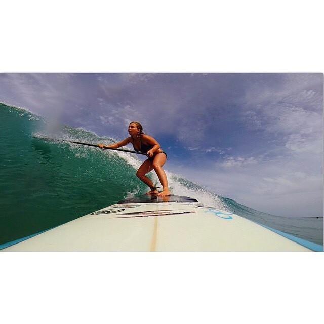 """Women who break down barriers are those who ignore limits."" Know no limits like our mermaid athlete @bailey.rosen #getoutthere #nolimits #supgirl #miolainaction #costarica"