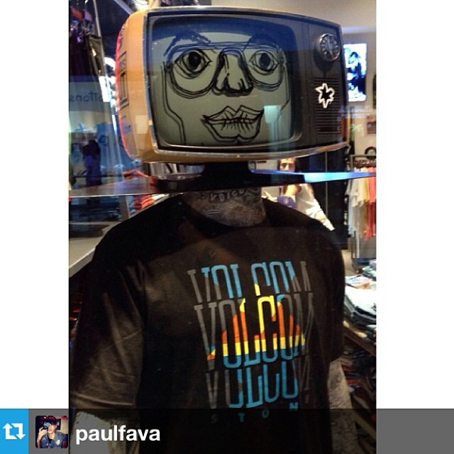 #Repost from @paulfava Volcom House Alto Palermo x #Chicodiamante #summer14