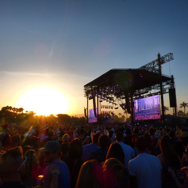 Our view at @coachella last week... look for us at weekend 2! || #thesweetlife #nectarshades
