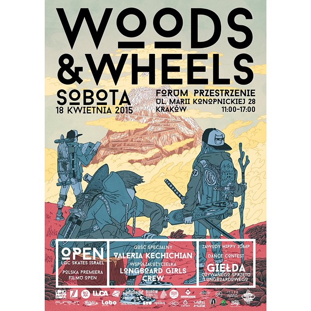 Tomorrow! Woods & Wheels longboard market in Krakow, Poland & OPEN -by @danieletura- Polish premiere!  All Polish ambassadors & OPEN rider @valeriakechichian will be there enjoying all the activities planned for the day including contests, clinics,...