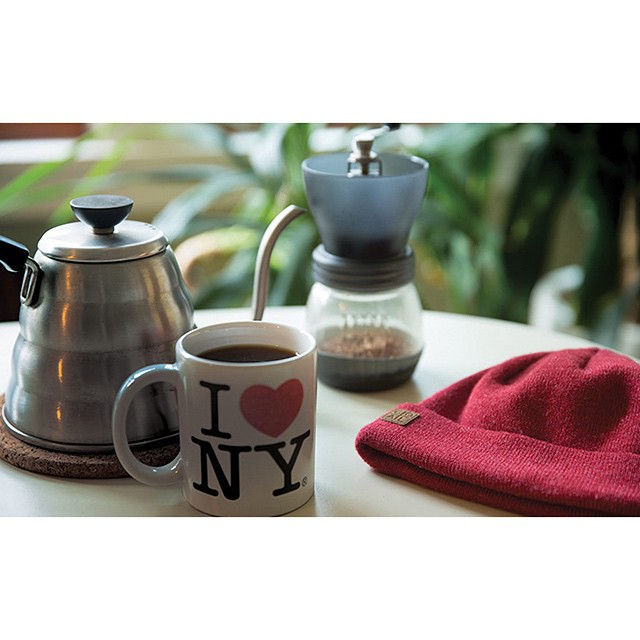 Nothing says #tgif like mid morning coffee and wearing your favorite beanie. Ours is The Harbor, what's yours?