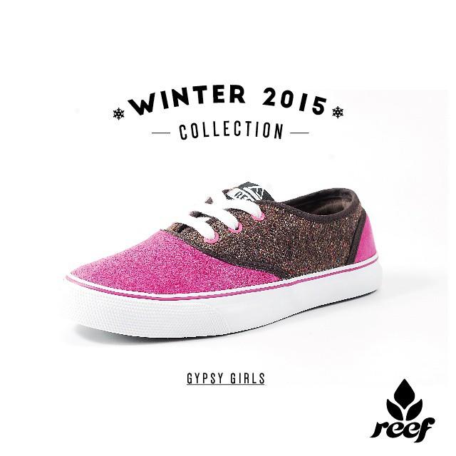 """WINTER 2015 - Nuevo modelo """"Gypsy""""  Vení a conocer toda la colección a: #ReefStores #Unicenter #ReefMDP #Marpla #AbastoShopping #AltoAvellaneda #PlazaOeste #JustPassingThrough #LifeIsShortGoSurfing #ReefGirls"""