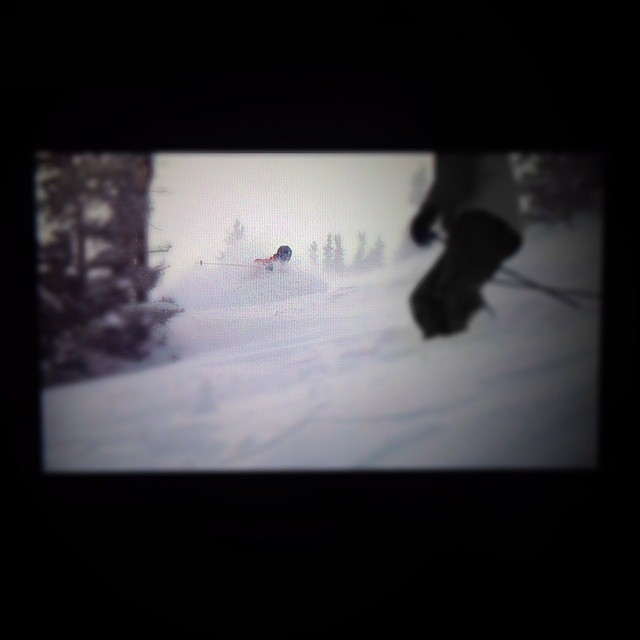 Little cottonwood went OFF this week. We're working on an edit. Stay tuned. #shapingskiing