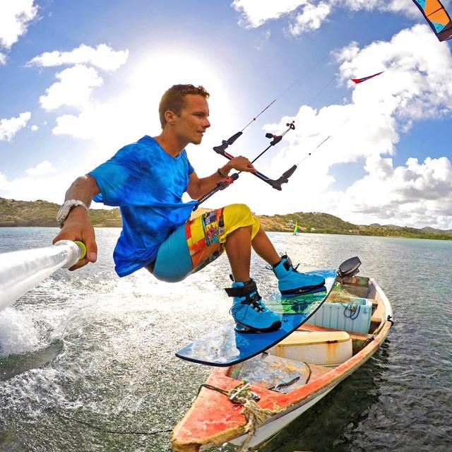 Weekend vibes! Photo: @jakekelsick GoPro HERO4 | GoPole Evo #gopro #gopole #gopoleevo #kiteboarding