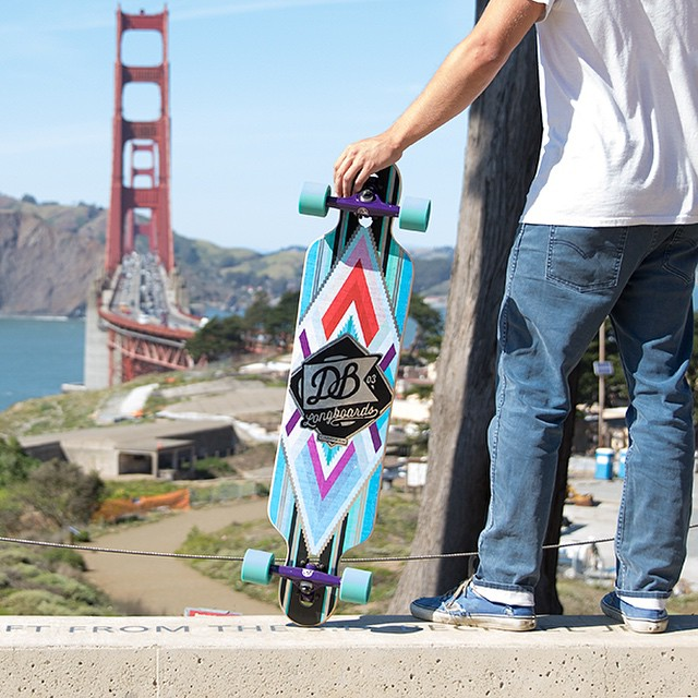 Introducing the Cabrakan.  A one-of-a-kind creation that gives off a well-deserved aura of awesomeness. Drop through truck mounting and a functional twin-tip shape will equip you to tackle mountains and valleys alike. Now available at DBlongboards.com...