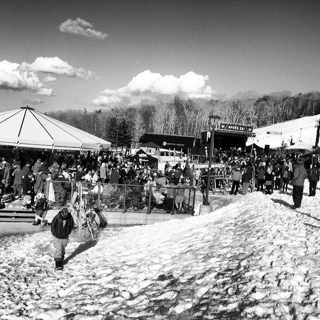 @killingtonmtn dazed and defrosted weekend poppin off. #springriding #dazedanddefrosted #killington @killingtonparks