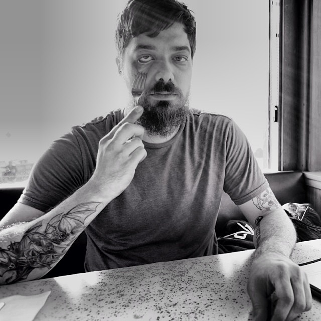 Case you missed it we asked Aesop Rock a bunch of stupid questions in 29. Thx @chrissypiper #aesoprock #aesopfork #issue29 #stupidquestions #steezmagazine