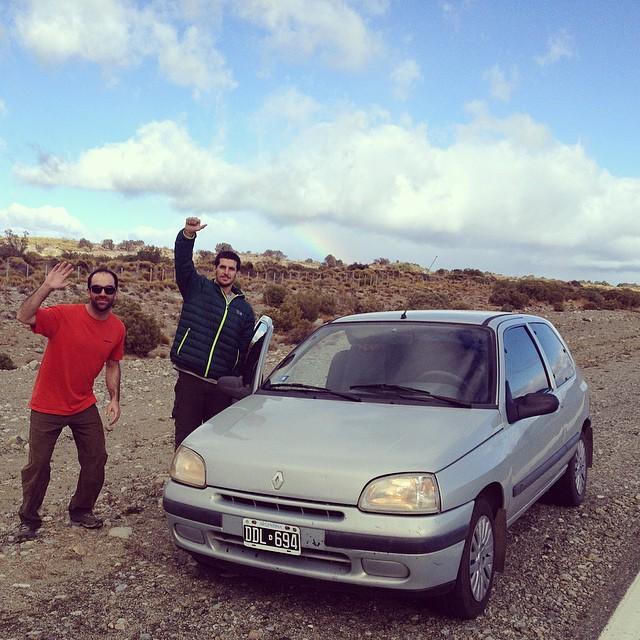 Rumbo a Piedra parada!! Viajecito de escalada @maxiartoni #pomelorock