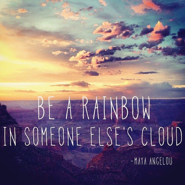Happy Sunday! #bearainbow #mayaangelou #motivation #dailypractice #reminder #love #nature #sunset #goodvibes