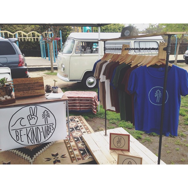 Swing by and check out our consciously crafted apparel at the Leucadia farmers market today, 10-2pm
