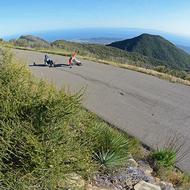 Flowing through the hills of Santa Barbara with @garrett_creamer and @seanwoolery18 #santabarbara #socal #californiasun #longboard #longboarding #longboarder #dblongboards #goskate #shred #rad #stoked #skateboard #skateboarding #skateboarder...