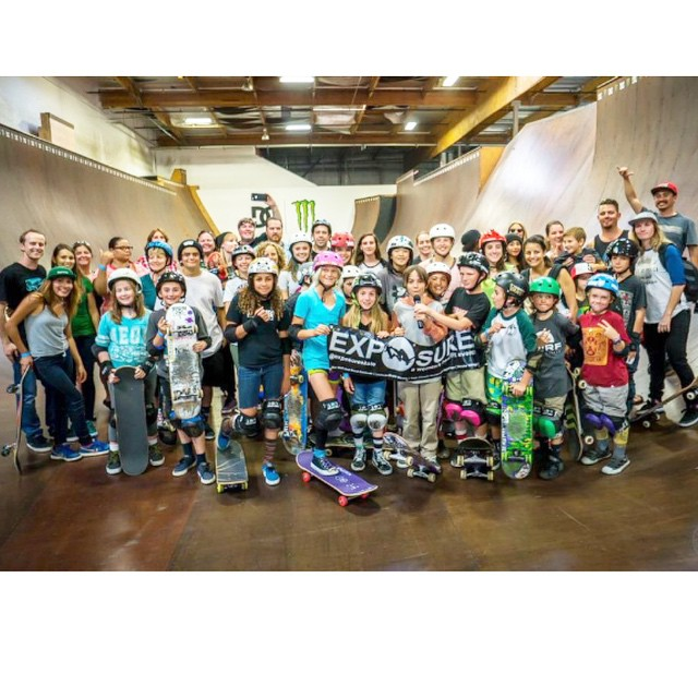 It's big time fun at our #rideanddine events! Mark your calendar for this week Thursday and meet us at Alga Norte skatepark in #carlsbad! We want you in our next group photo!! #skate #eat #fun