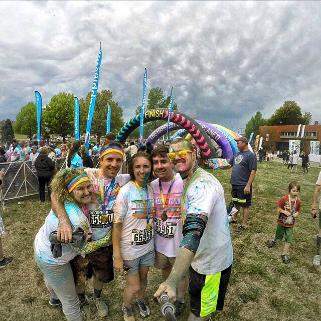 The Color Run is more fun with Kameleonz on! It's Selfie Sunday! Hashtag #Kameleonz or Tag @kameleonz in your pics to be featured!  Kameleonz.com
