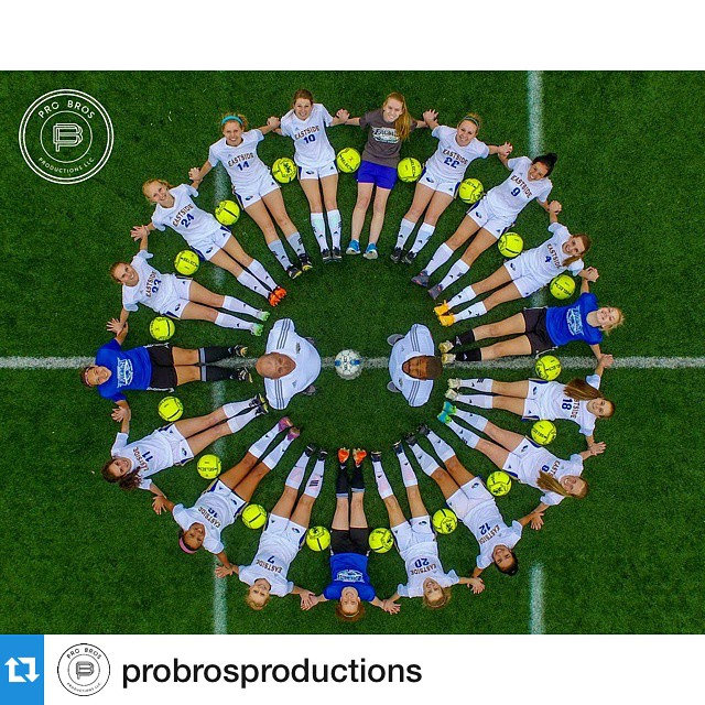 Great shot from the #DJI #inspire1 by @probrosproductions of the Eastside Lady Eagles Soccer team.  #ProBrosProductions #aerial #aerialphotography #sportsphotography #djicreator #djiinspire1 #inspire1 #inspire #dronepointofview #dronesaregood #soccer