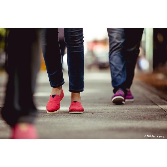 Pasos firmes, pasos con Actitud. #Lunes #ActitudQA  www.QA.com.ar  PH: @cuikafoto