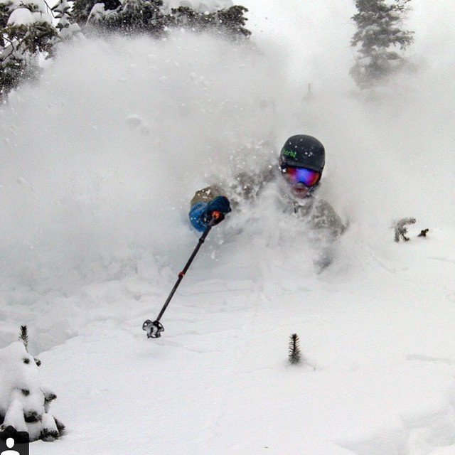 Maybe it was the last storm, maybe not. Regardless it was goody in the Rockies/Wasatch this weekend.