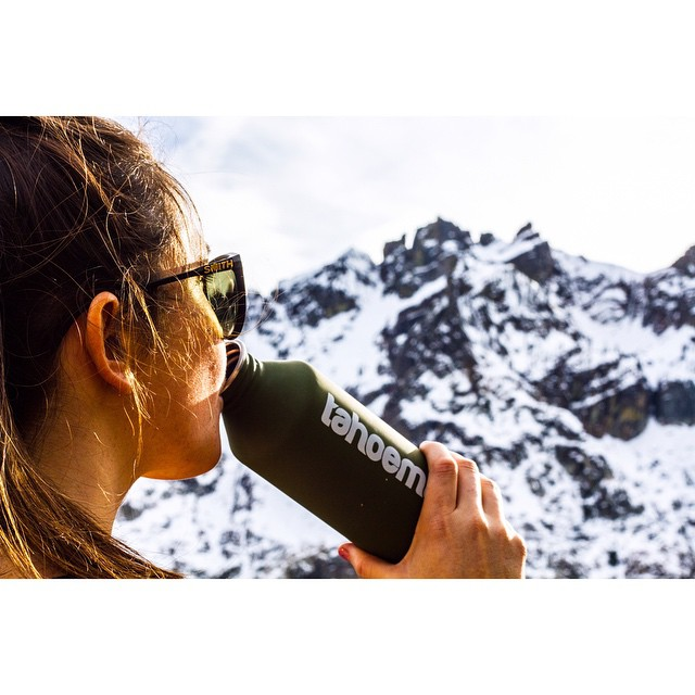 Just a few of our favorite things. @tahoemade X @mizulife X @smithoptics  _ #tahoemade #itswayoutthere #mizulife