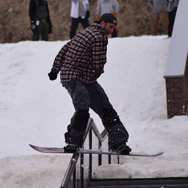 Yale Cousino with a mellow move at #Superpark19...switch hardway back 270 to regular...casual