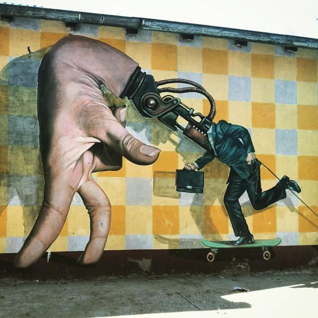 #martinron  #urbanart  #streetart  #miumtoys  #buenosaires