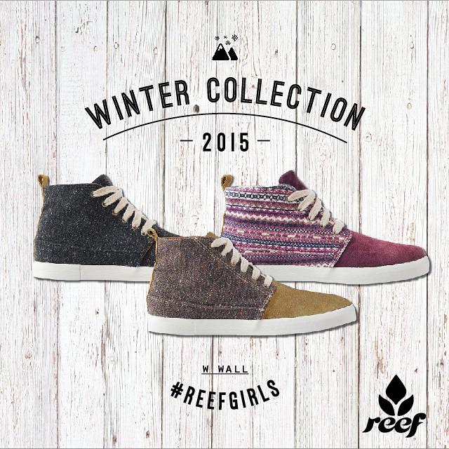 Reef Argentina presenta su nueva colección de calzado de invierno 2015 -  Vení a conocer toda la colección a: #Unicenter #Marpla #ReefMDP #AbastoShopping #AltoAvellaneda #ReefStores #PlazaOeste #justpassingthrough #ReefGirls
