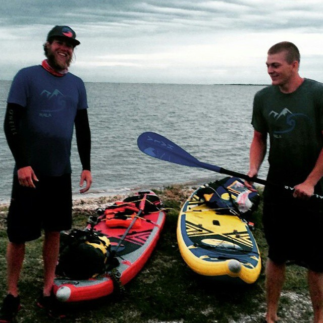 @friendly_aviator and @johnnylimitless just completed a 100 mile SUP self support trip on the Guadalupe river. 4 days 3 nights, one flash flood. Great job guys! Can't wait to see more of your adventure. #adventuredesigned #halanass #halaplaya...