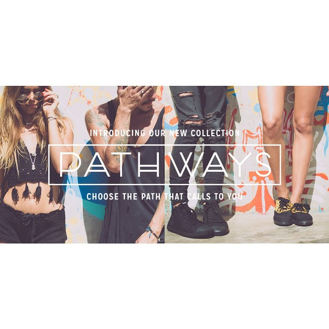 "Introducing our new line ""Pathways"""