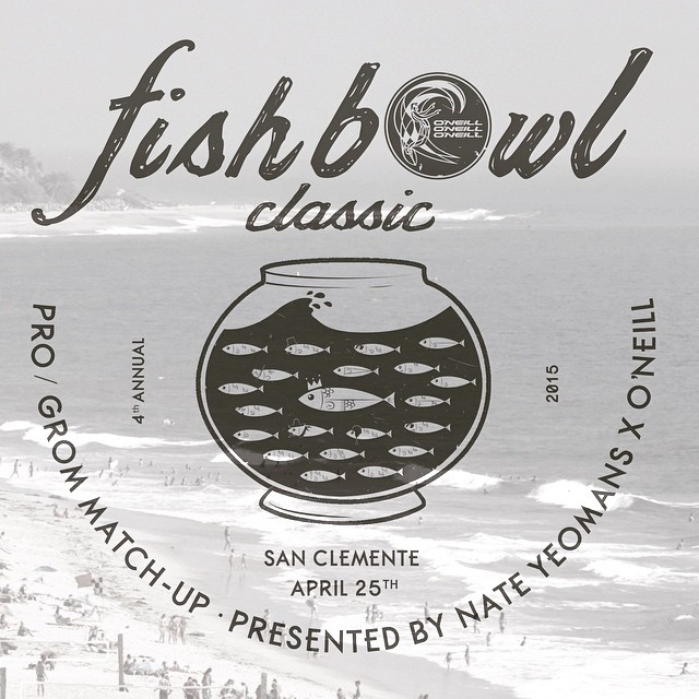 Get ready for the 4th Annual #fishbowlclassic presented by Hoven Surf Rider @bigdeluxe_ ! #hovenvision #pro #grom #surf #sanclemente